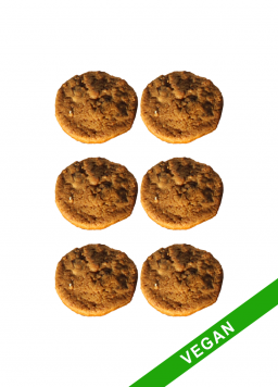 6 cookies vegan