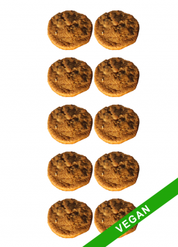 10 cookies vegan